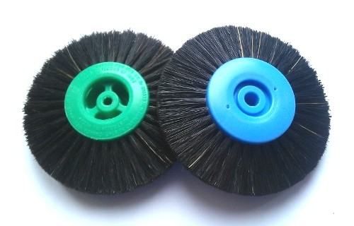Plastic Centre Lathe Brushes