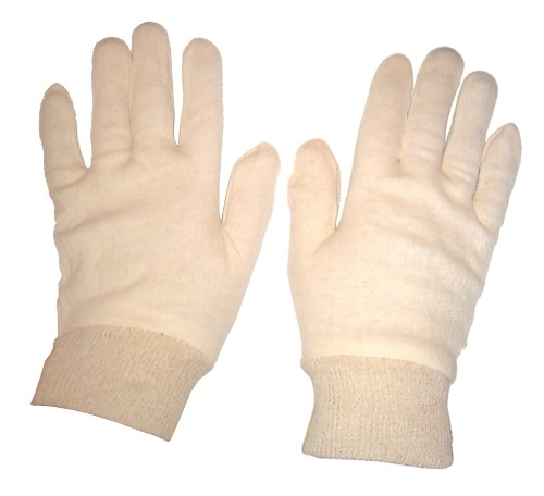 Stockinette Gloves Size 9.5 (Pack of 5 Pairs)