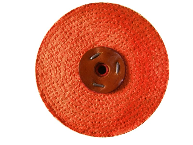 Metal Polishing Wheel, Orange Sisal Mop