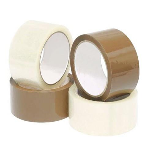 50mm x 66m Packaging Tape / Sealing Tape / Buff Tape