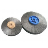 Steel Vertex Wire Wheels - Stepped Bore
