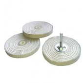 100mm Mounted Mini Stitch Mop & Spindle Kit