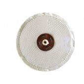 White Close Stitched Polishing Mop