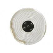 White Open Stitched Polishing Mops